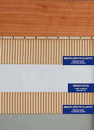 Lepení dřevěných podlah na kritické podklady