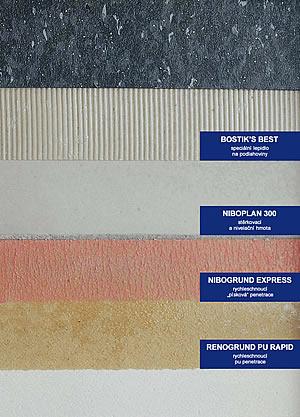 Lepení podlahovin na xylolitový potěr