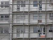 revitalizace panelového domu s použitím systému přistavěných lodžií