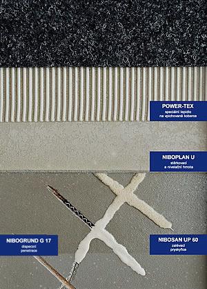 Sešívání trhlin pod elastickými podlahovinami