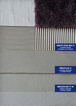 Univerzální lepidlo na koberce i PVC Nibofloor Multi