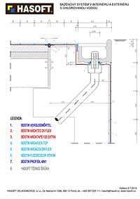 Bazénový systém v interiéru a exteriéru s chlorovanou vodou